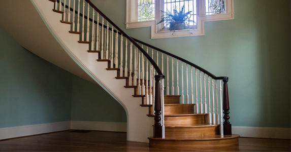 The Curved Staircase