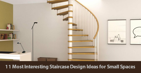 11 Most Interesting Staircase Design Ideas For Small Spaces