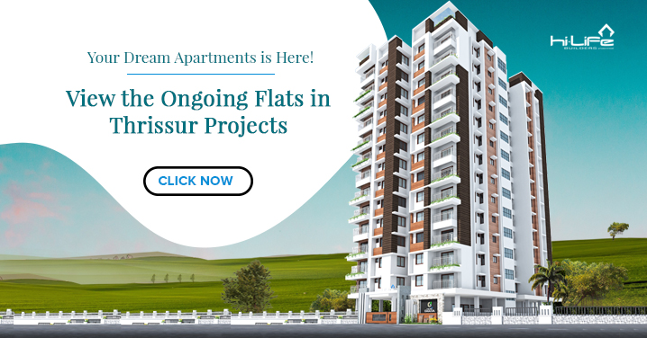 Ongoing Flats and Apartments in Thrissur