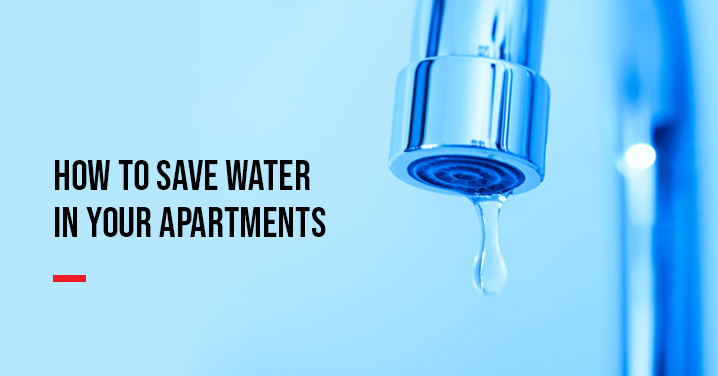How to Save Water in Apartments