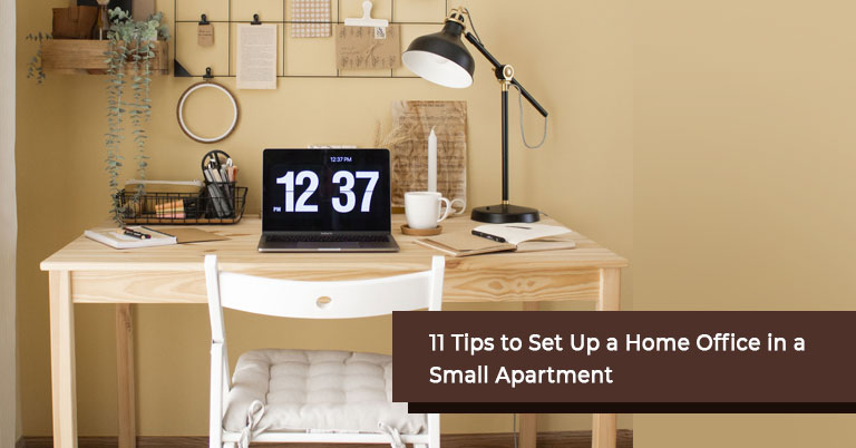 Tips to Set Up a Home Office in a Small Apartment