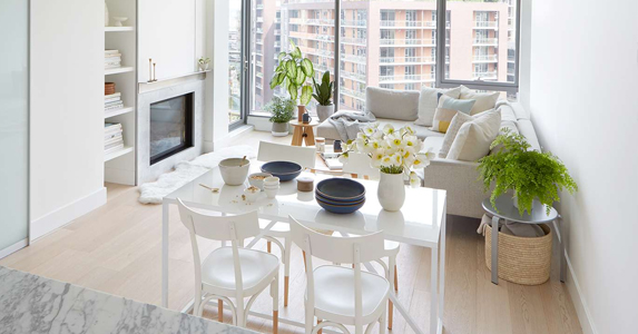 How To Combine Living Room And Dining Room In An Apartment